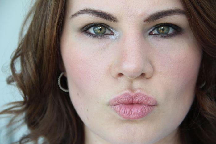 Skin, lips and cheeks