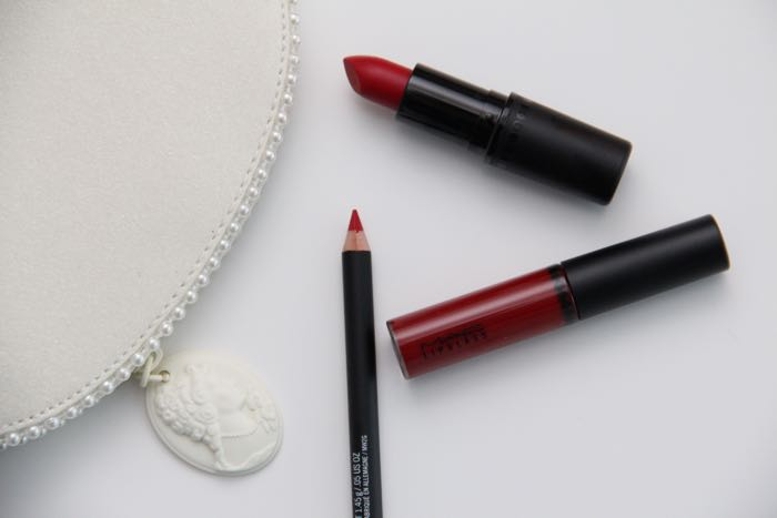MAC's Keepsake Red Lip Bag