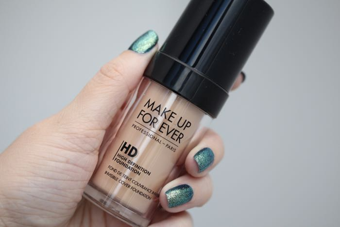 Make Up For Ever's HD Foundation in shade 118