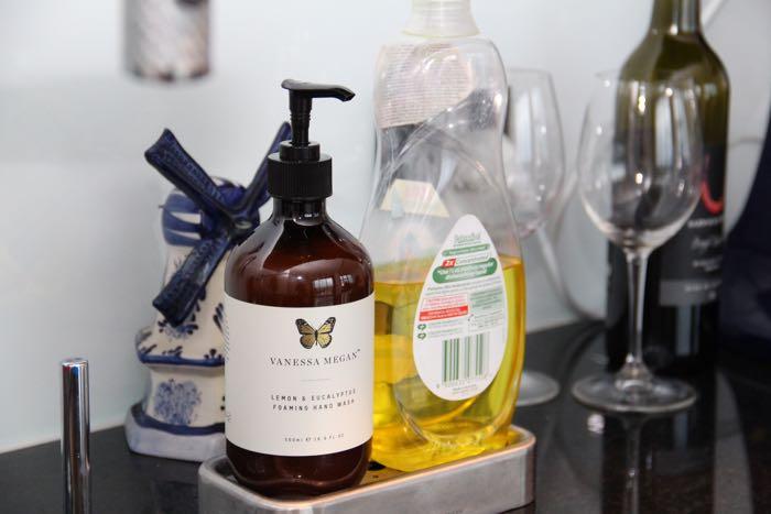 Keepin' it clean - Vanessa Megan's Lemon & Eucalyptus Foaming Hand Wash