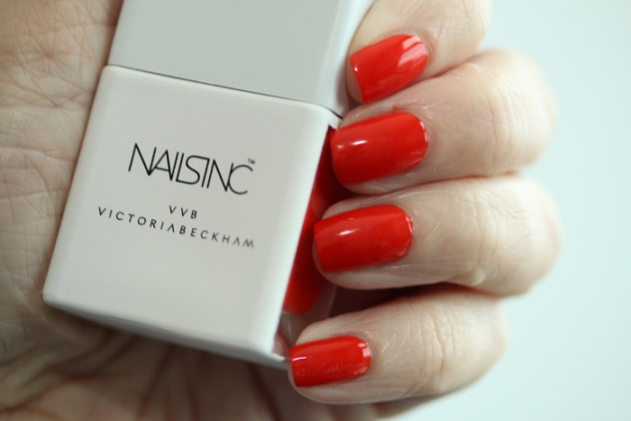 Nails Inc Judo Red (tomato red)