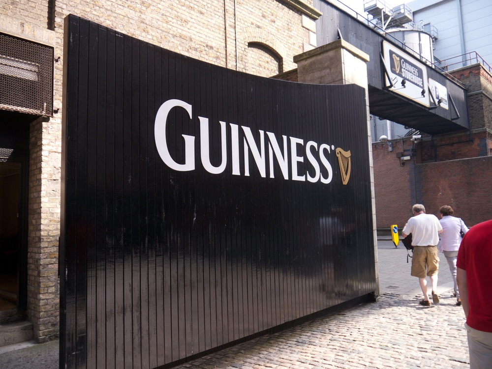 Back in Dublin, we were able to get to the Guinness factory to tour around. We got to pour our own pints as well! Guinness tastes awful, though...