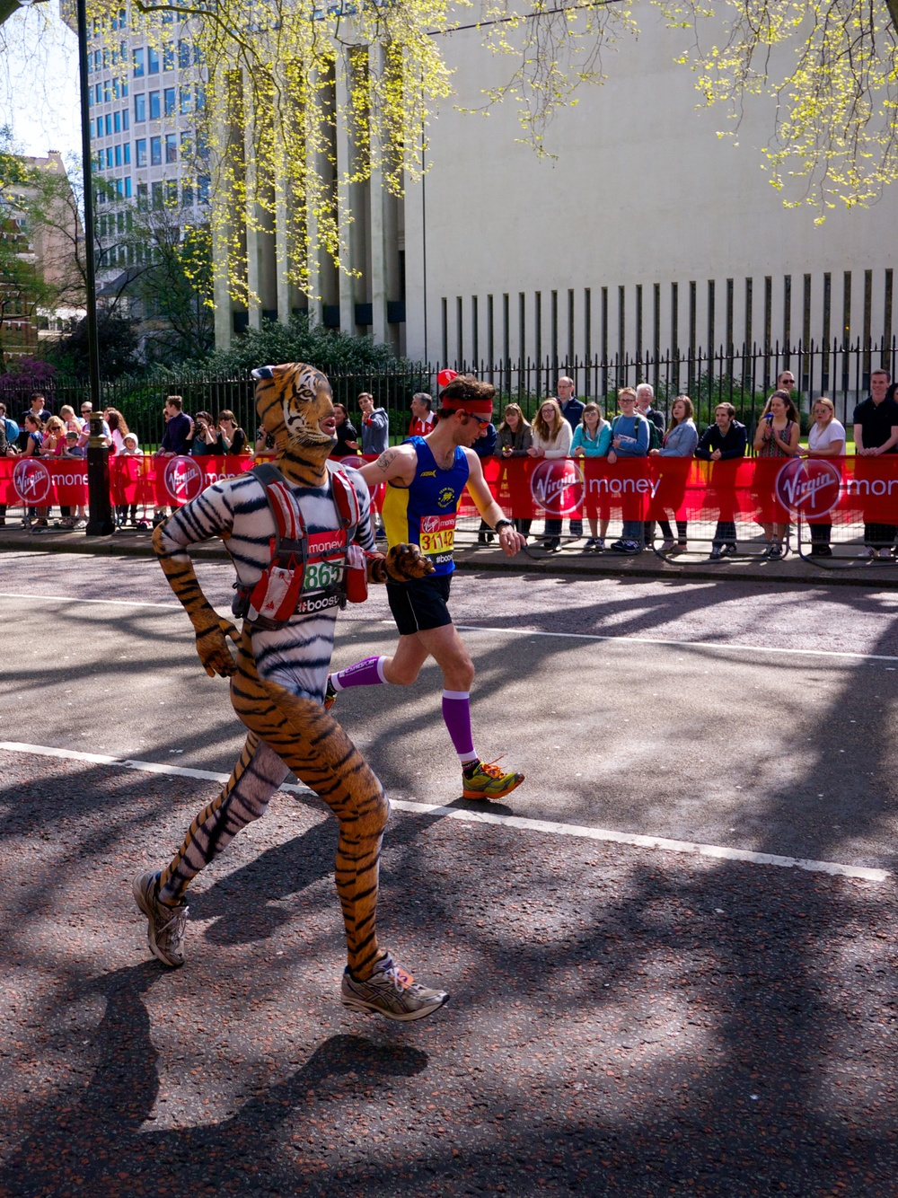 A lot of runners also provided great costumes...