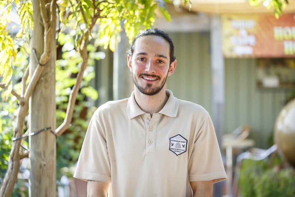 Mathew Tyler Trainee beekeeper