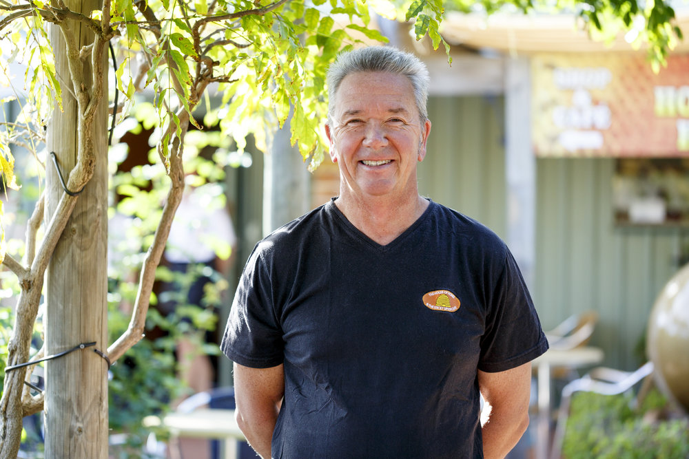 Rupert Phillips beekeeper