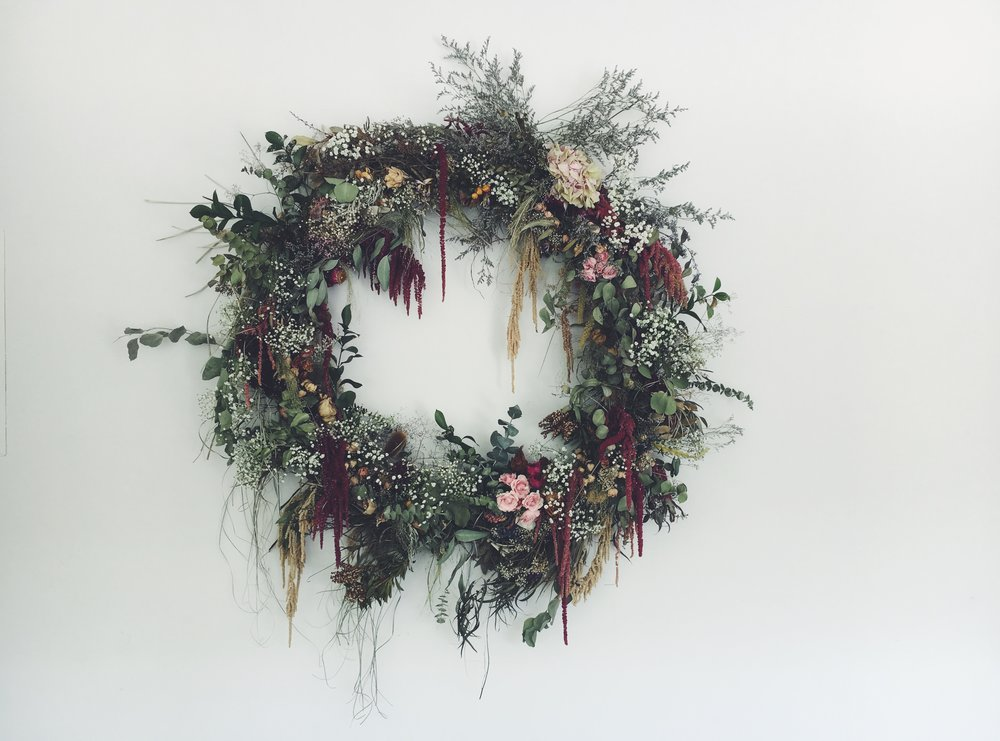 The 365 wreath, summer phase