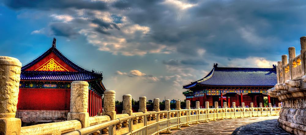 TEMPLO DEL CIELO HDR BEIJING , CHINA