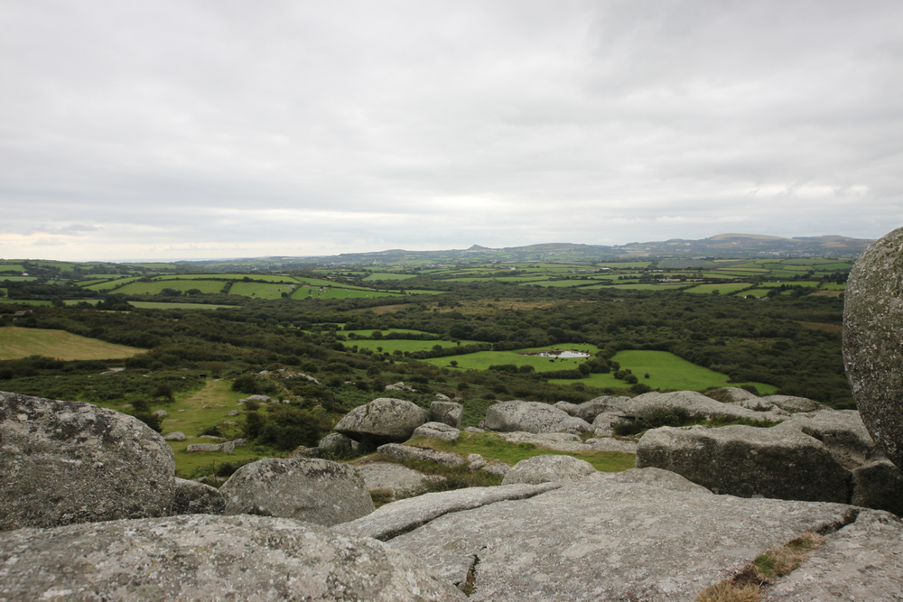 view from helman tor gate