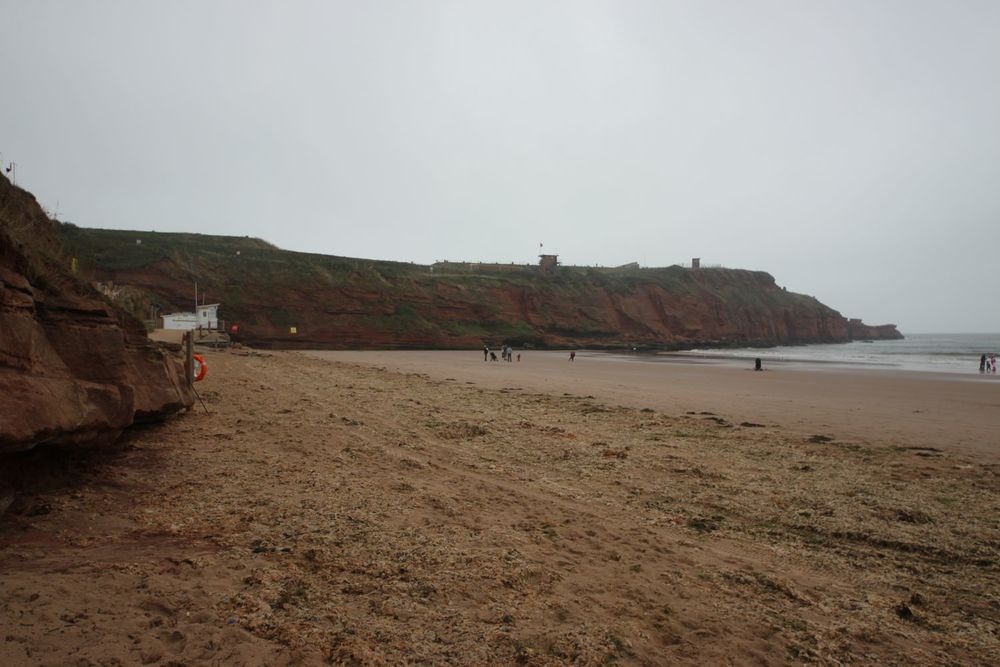 beach and rifle range