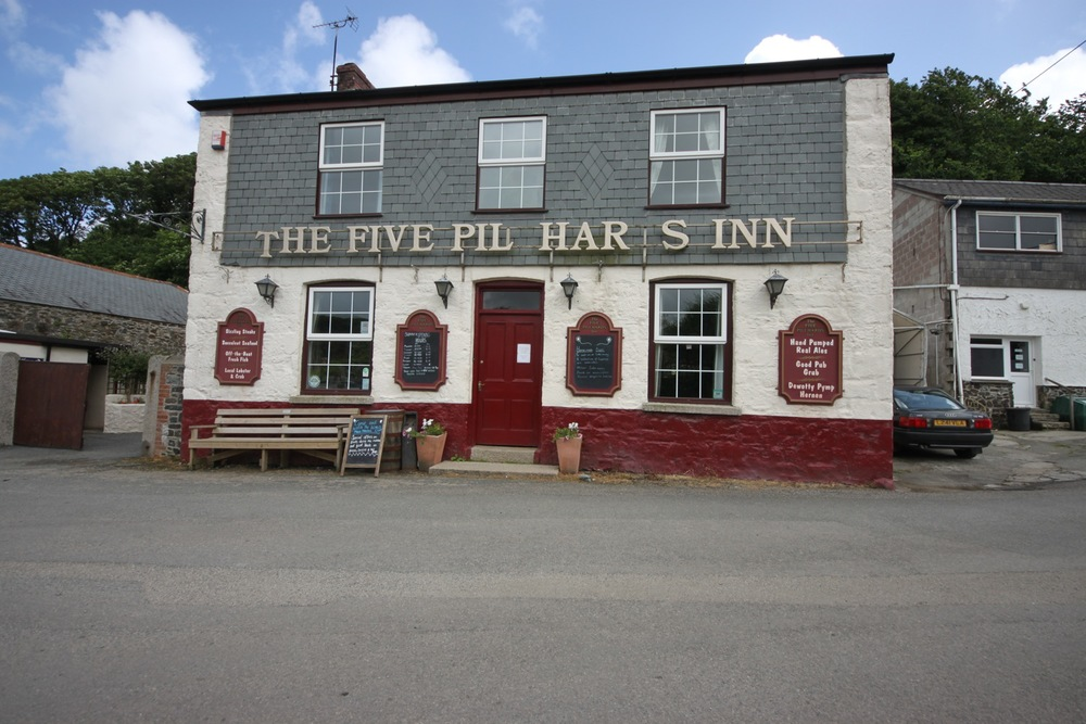 five pilchards inn