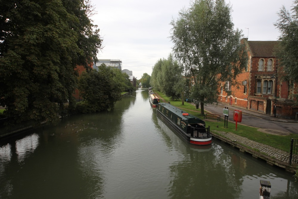 the view from osney bridge