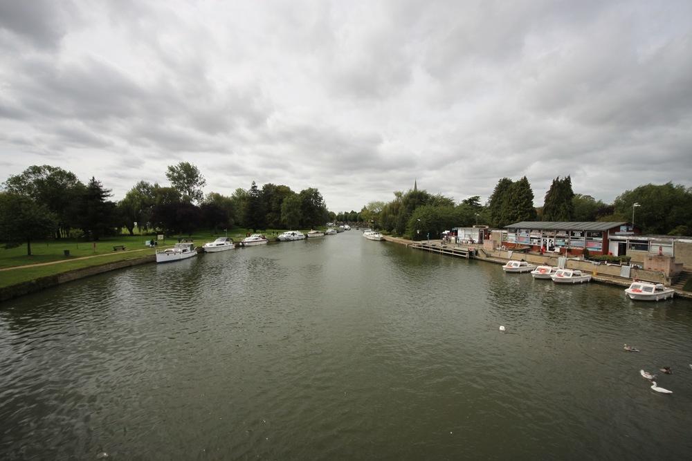 the view from abingdon bridge