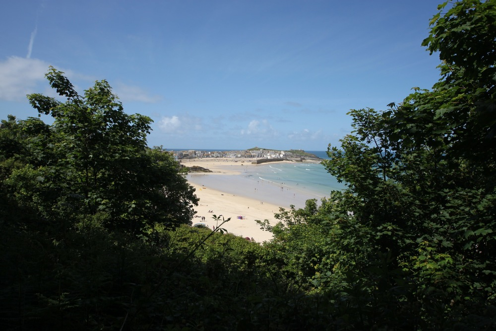view to st ives
