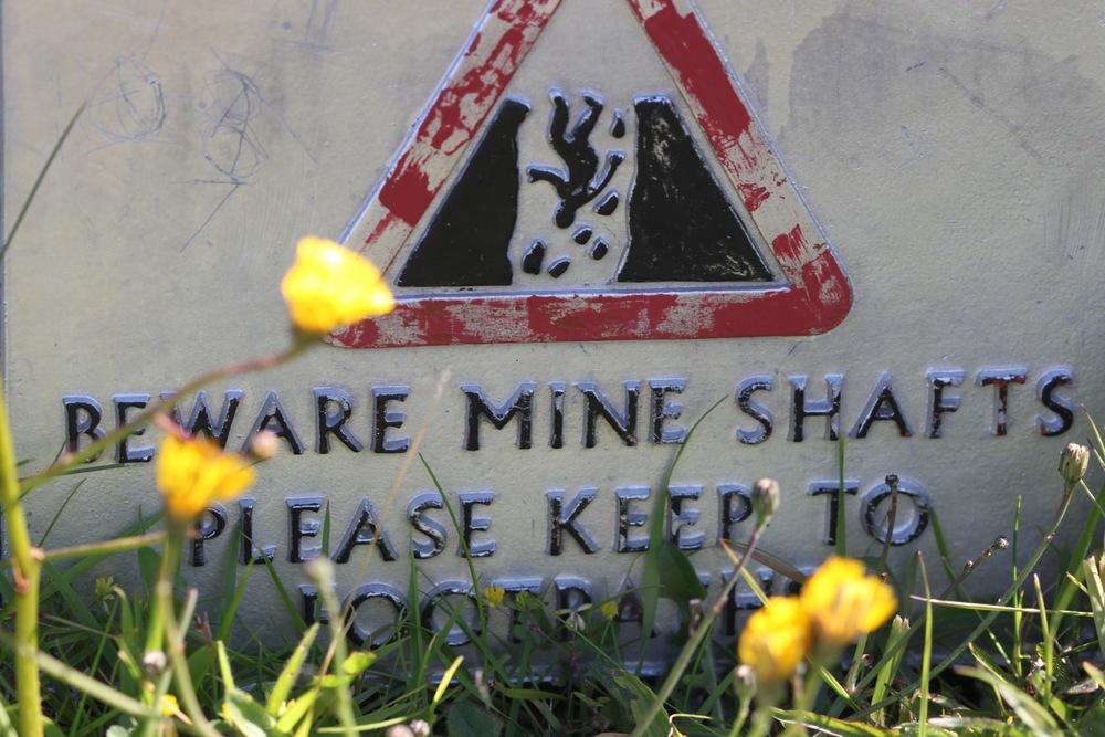 mine shafts