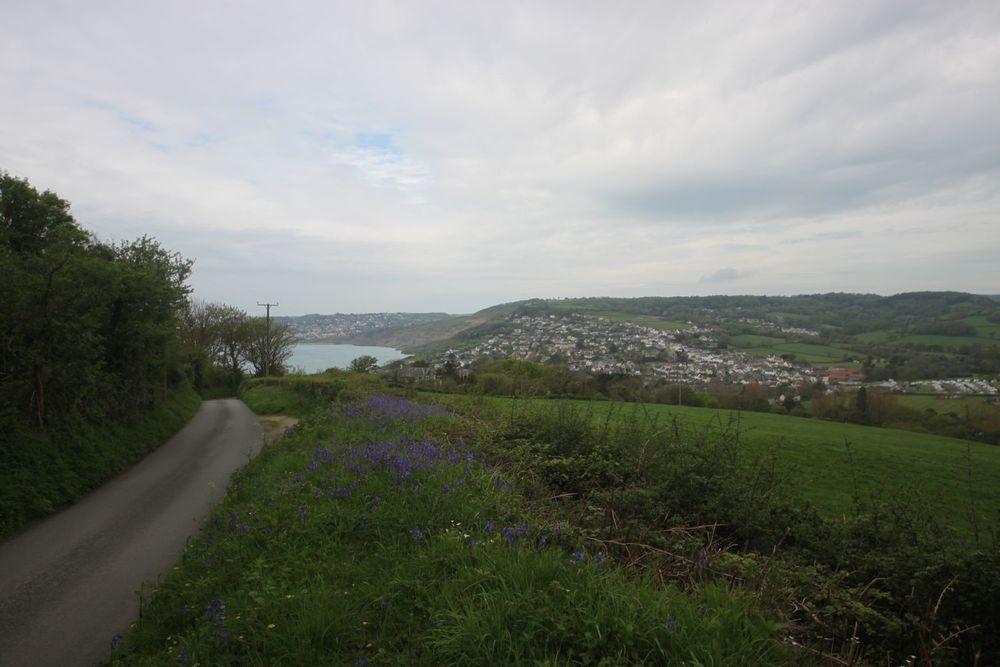view from stonebarrow lane