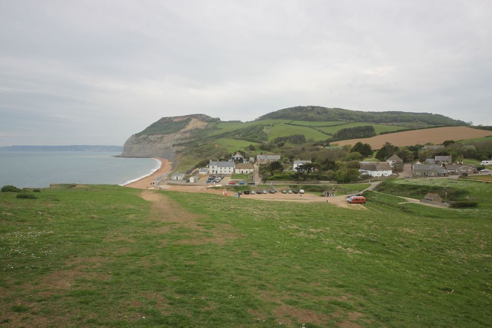 view back to seatown