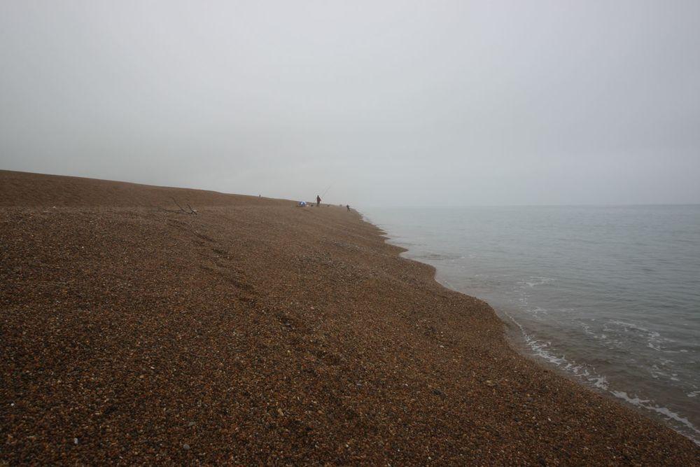 a gloomy chesil beach
