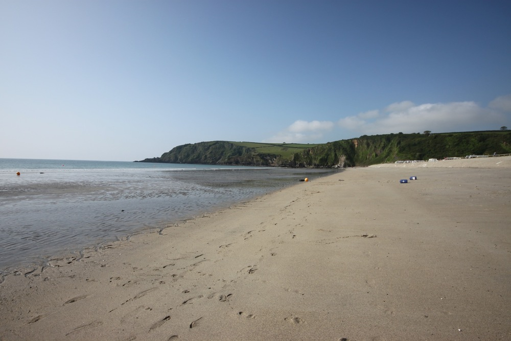 trespassing on pentewan beach