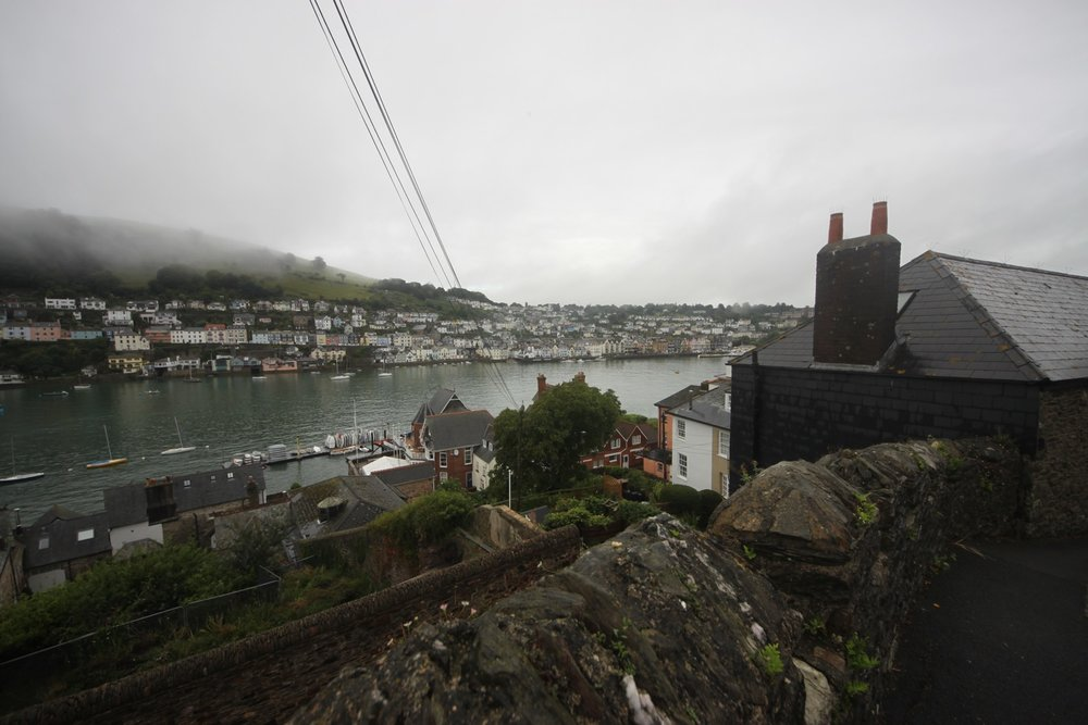 view over dartmouth from kingswear