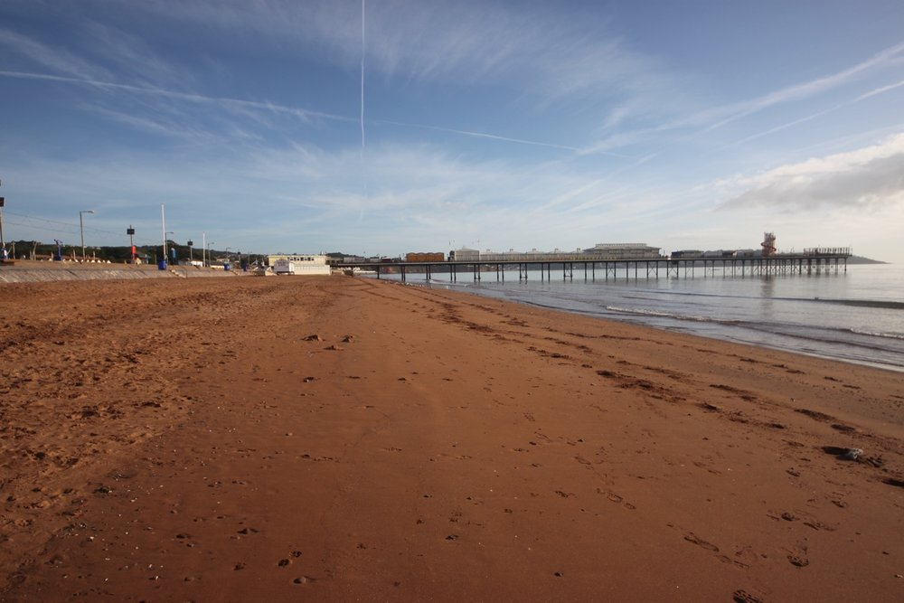 paignton sands and pier