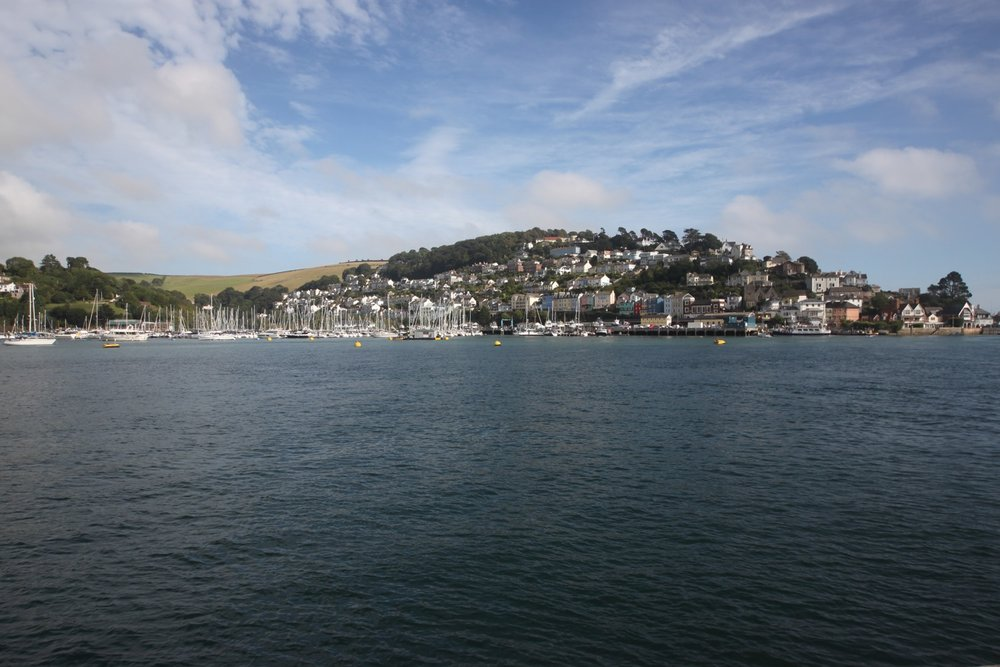 view over to kingswear