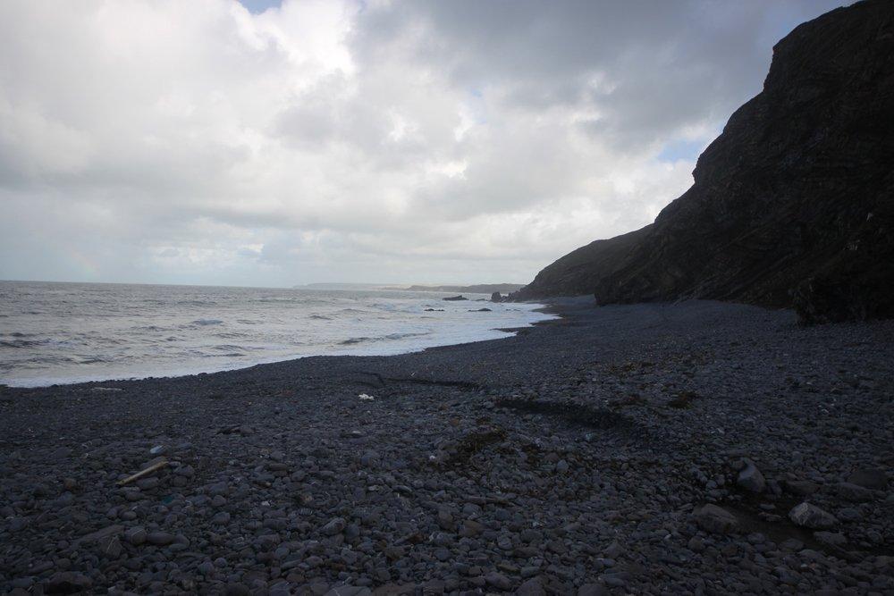 millook haven beach