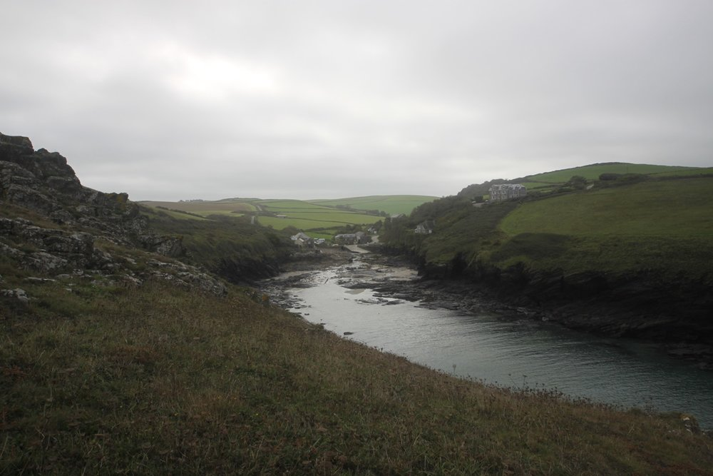 dropping down to port quin