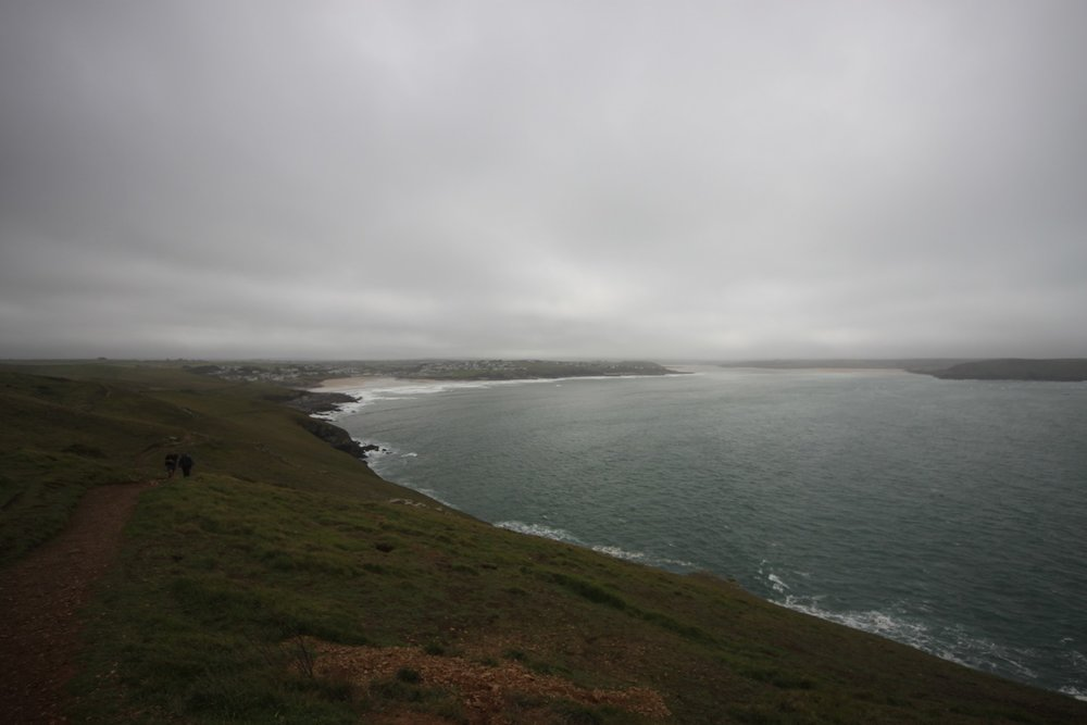 view over hayle bay