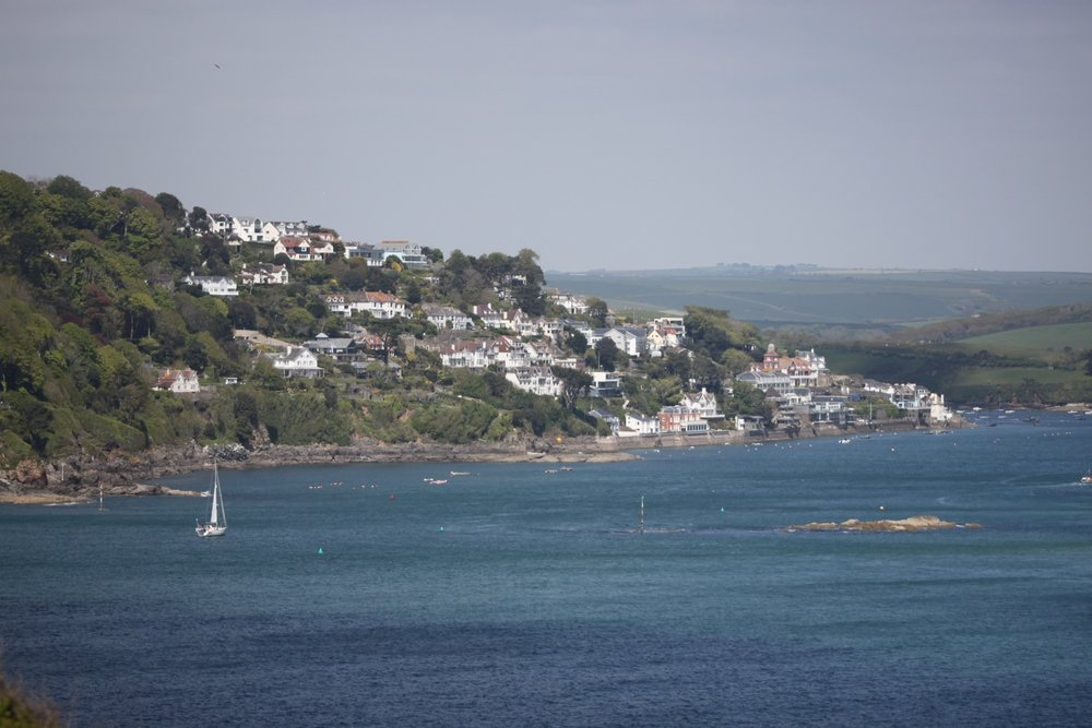 view over salcombe