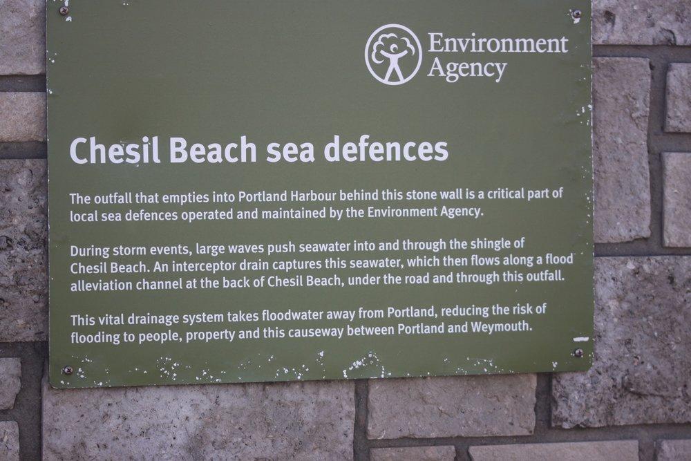 chesil beach sea defences