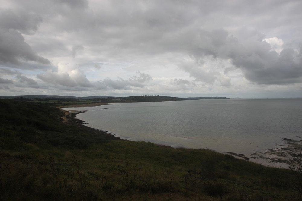 murky view over gurnard bay
