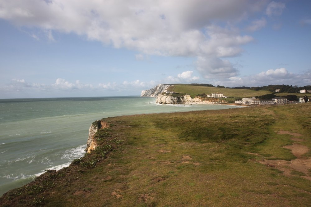 view back over freshwater bay