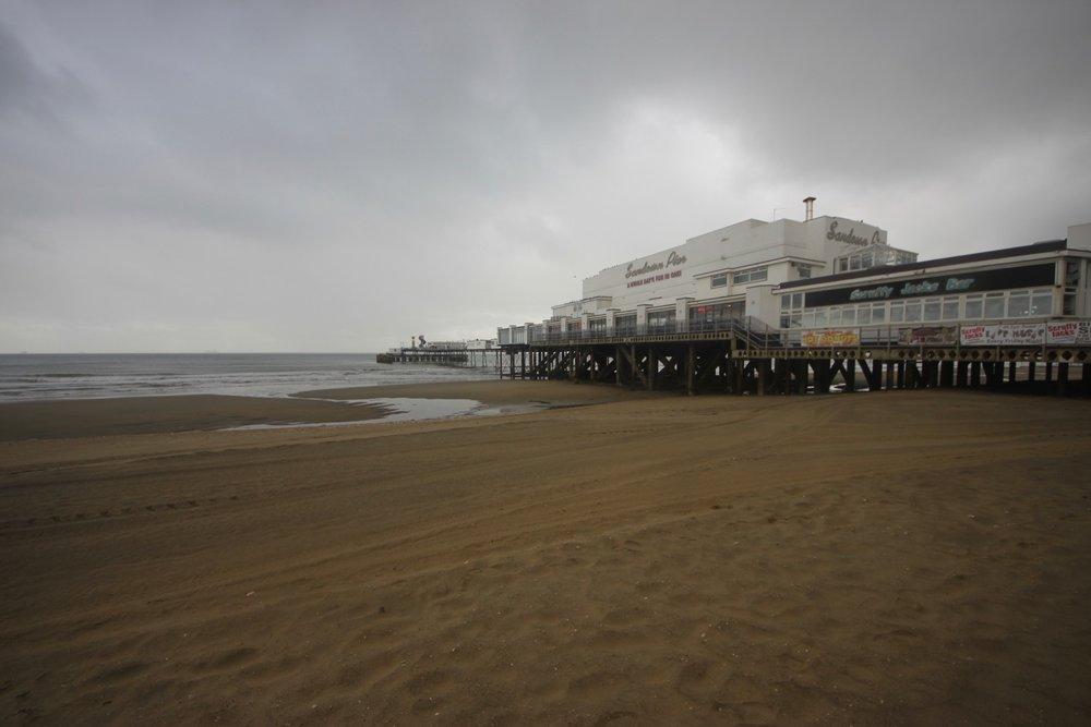 sandown pier