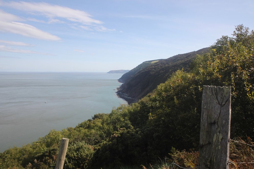 north devon and somerset coast