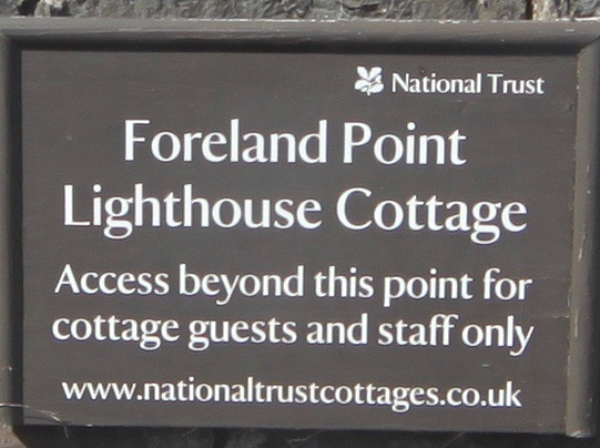 foreland point lighthouse cottage