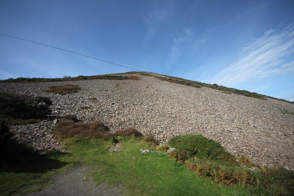 massive cliff