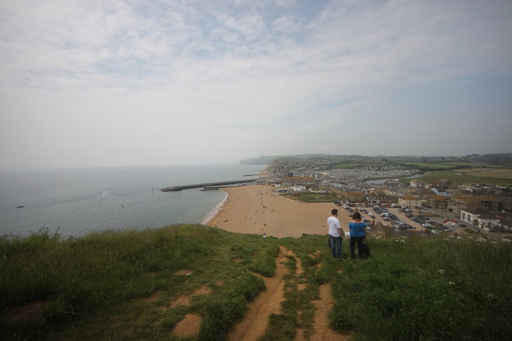 view over west bay