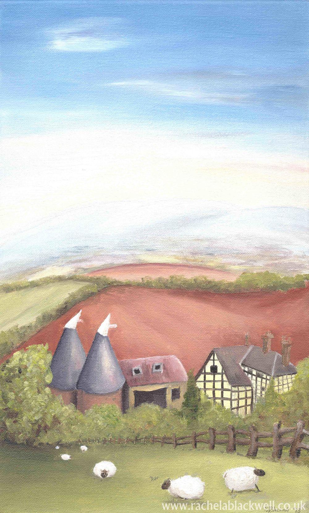 Hop Barns at Yarkhill