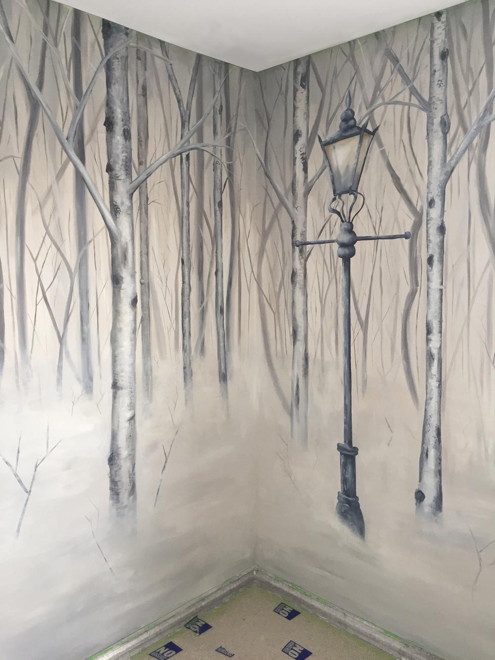 Narnia Bedroom Mural