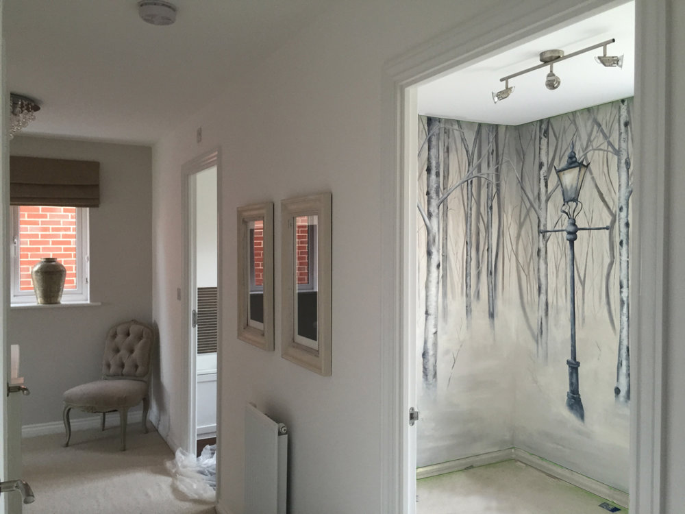 Narnia Feature walls mural