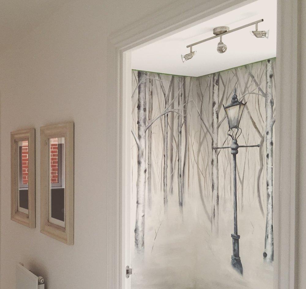 Narnia Bedroom Feature Walls