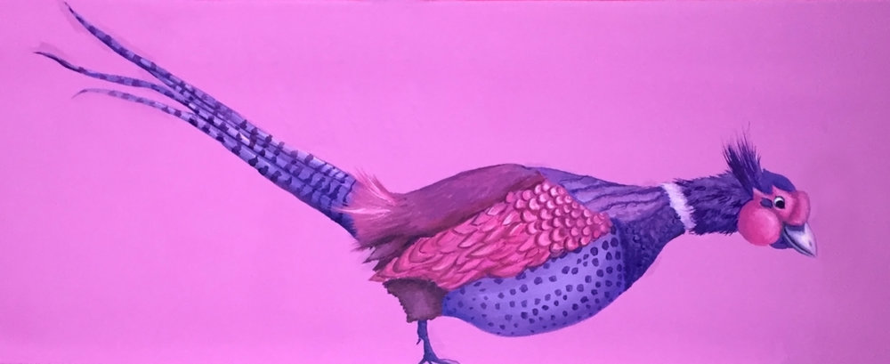 Pheasant Mural