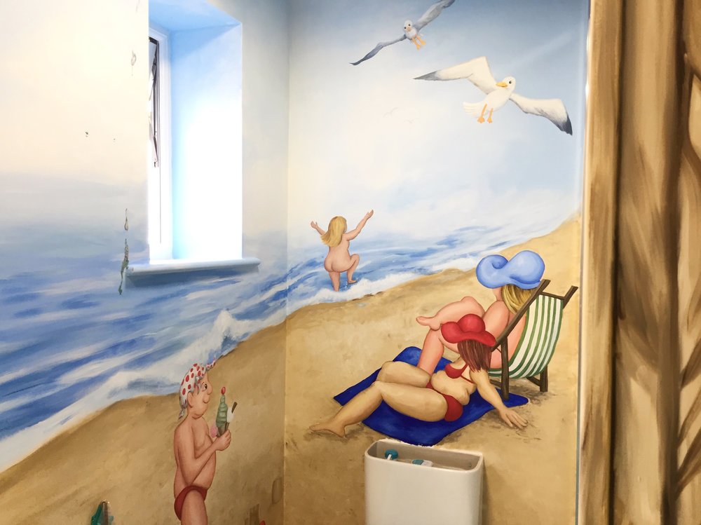 Beach Bathroom