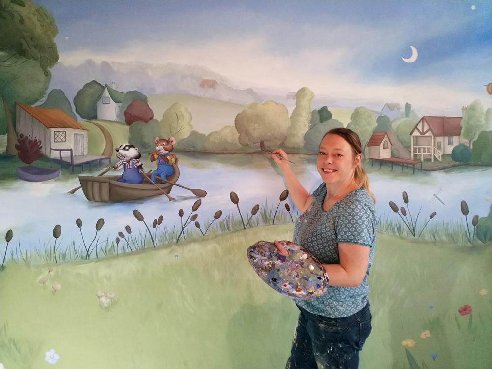Rachel Painting The Mural2 low res.jpg
