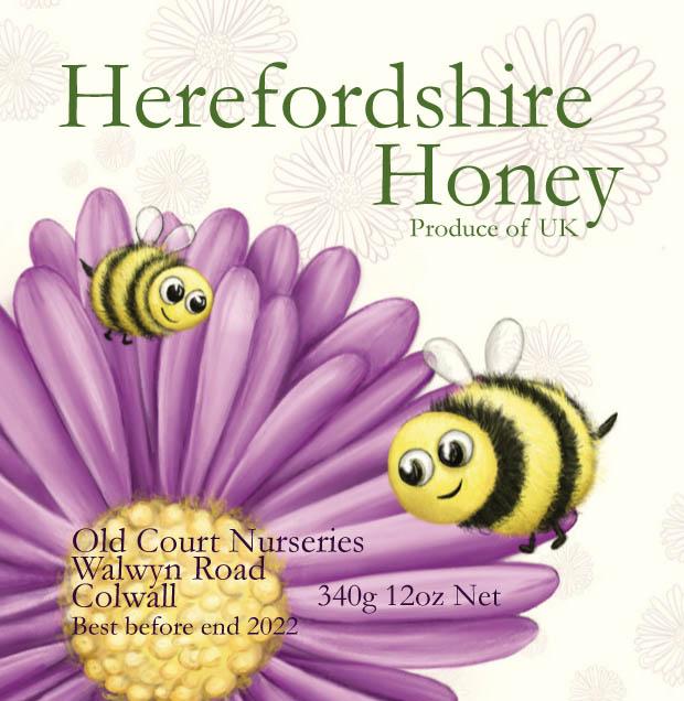 Honey Product Label