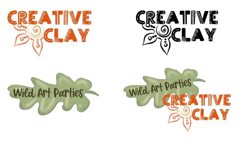 Logo for Creative Clay