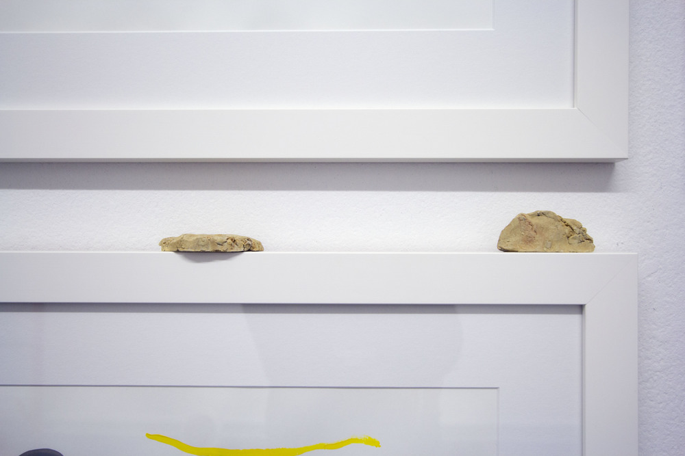 Eleanor Louise Butt Time Circles seventh gallery clay mounds on frames 2014.jpg