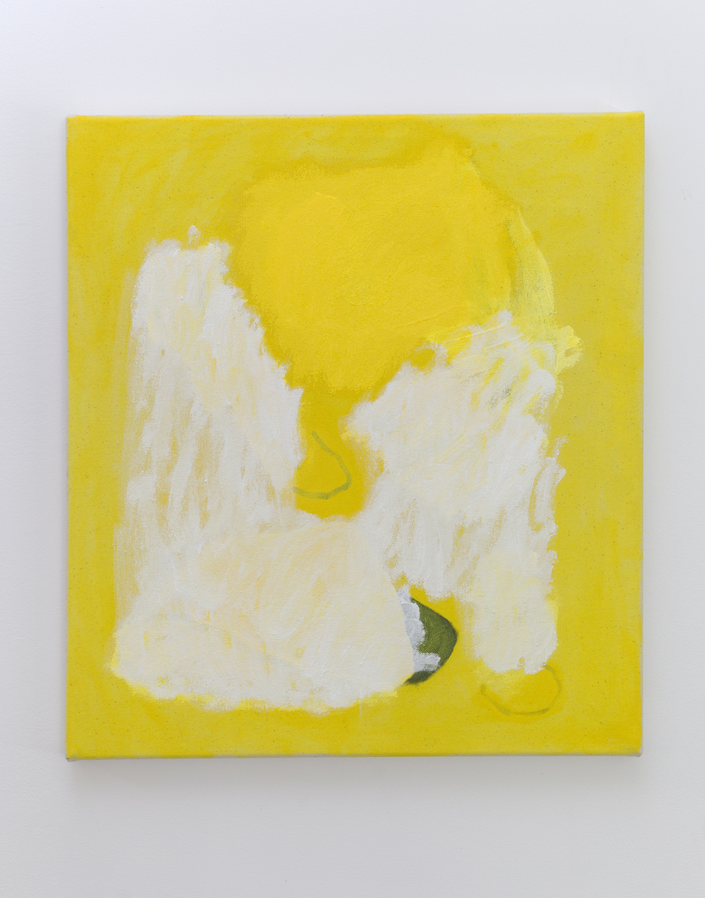 Eleanor Louise Butt, Untitled, 2016. Oil on canvas 46cm x 41.5cm