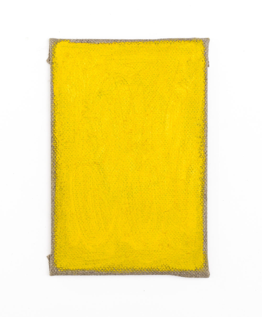 Eleanor Louise Butt, Untitled, 2016. Oil on Belgian linen 15cm x 10cm