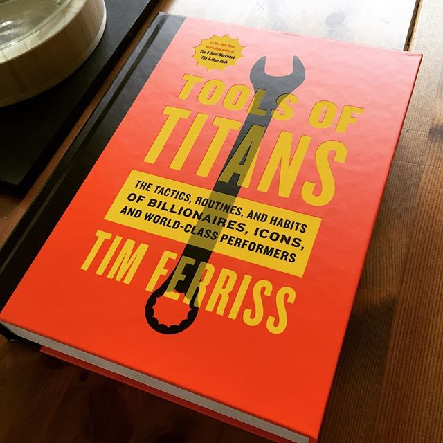 Looking forward to digging into this!!#toolsoftitans @timferriss